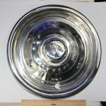 Radkappe, Rolls-Royce Edelstahl
