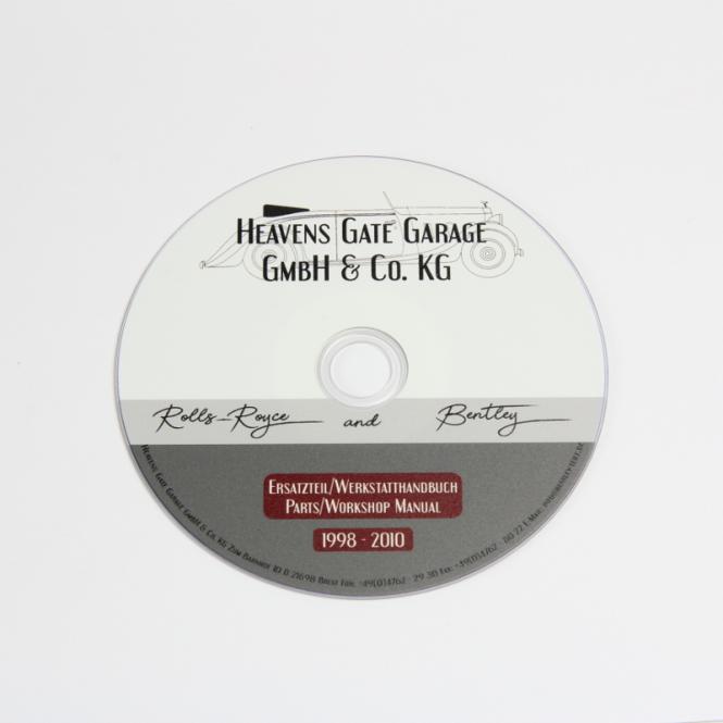 Teilehandbuch auf DVD, engl./deut./franz./span./ital.